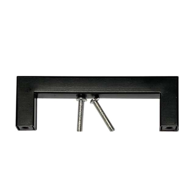 Hardware Furniture Cabinet Door Square Black Pull Handles