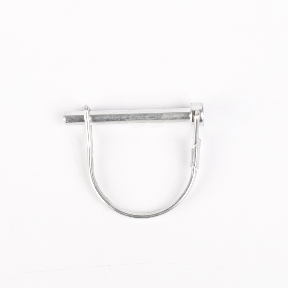 Zinc Coated Round Wire Snapper D-ring Pin
