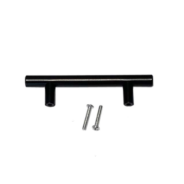 Modern Furniture Hardware SS Tube Glass Door Pull Handle T Bar