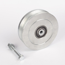 Premium Steel V-Groove Wheel for Sliding Gate