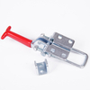 Zinc Plated 5 Inch Toggle Clamp with Red Handle