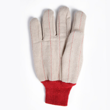 White And Red Oil Field Double Palm 18 Oz Gloves