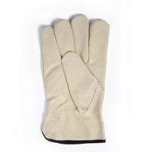 White Soft Pigskin Leather Driving Gloves